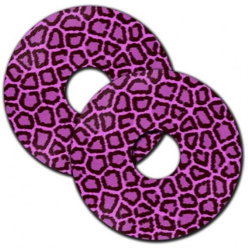PINK LEOPARD PRINT Wheelchair Spoke Guards